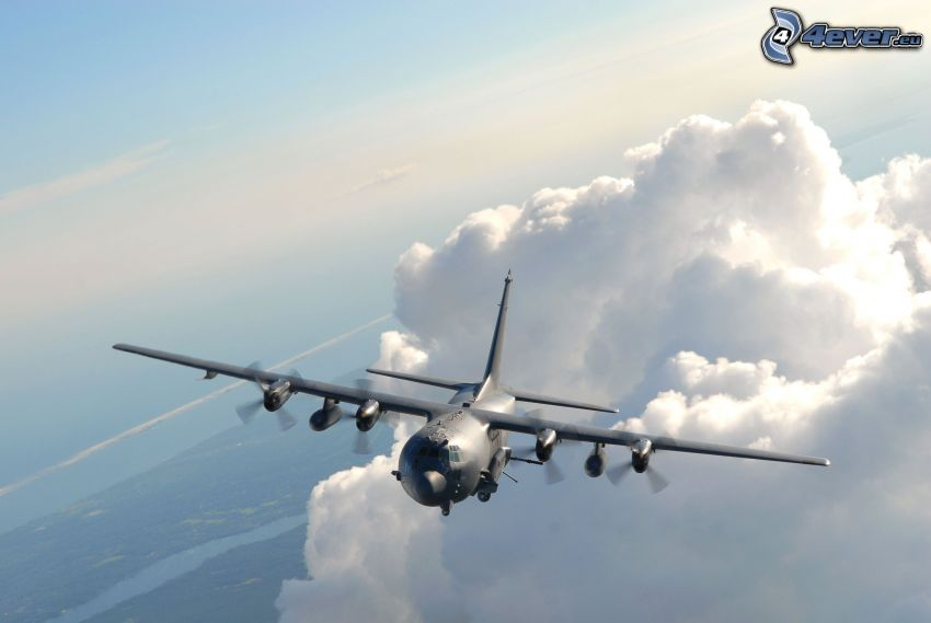 Lockheed AC-130, Wolken