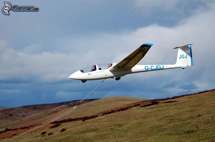 Segelflugzeug, Felder