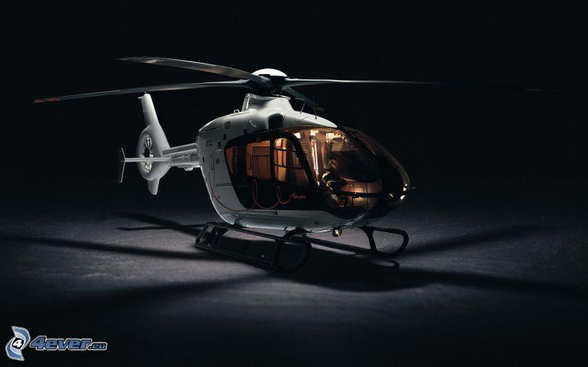 EC 135, persönlicher Hubschrauber