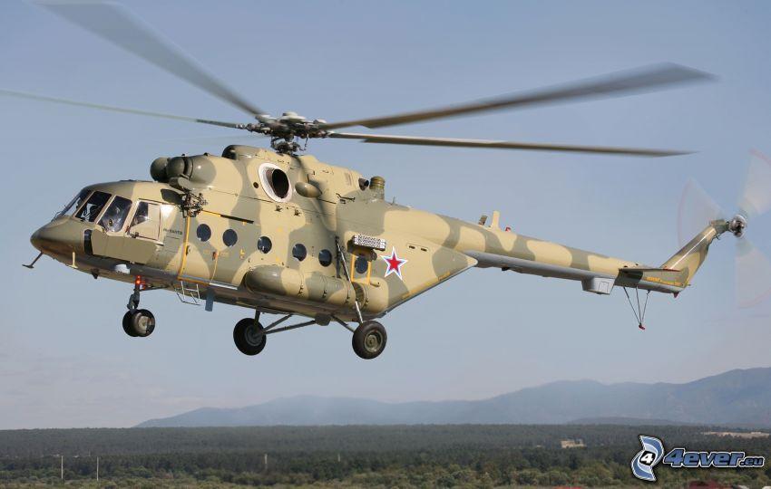 militärischer Hubschrauber