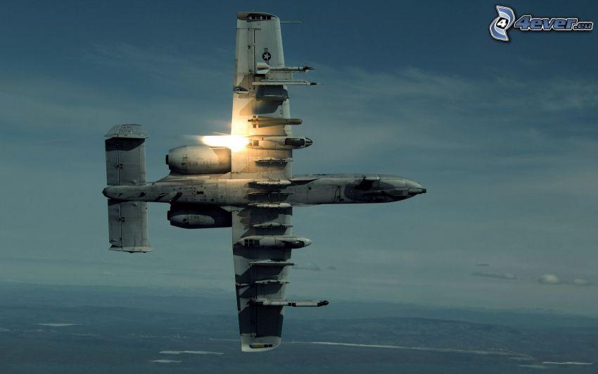 A-10 Thunderbolt II, Himmel