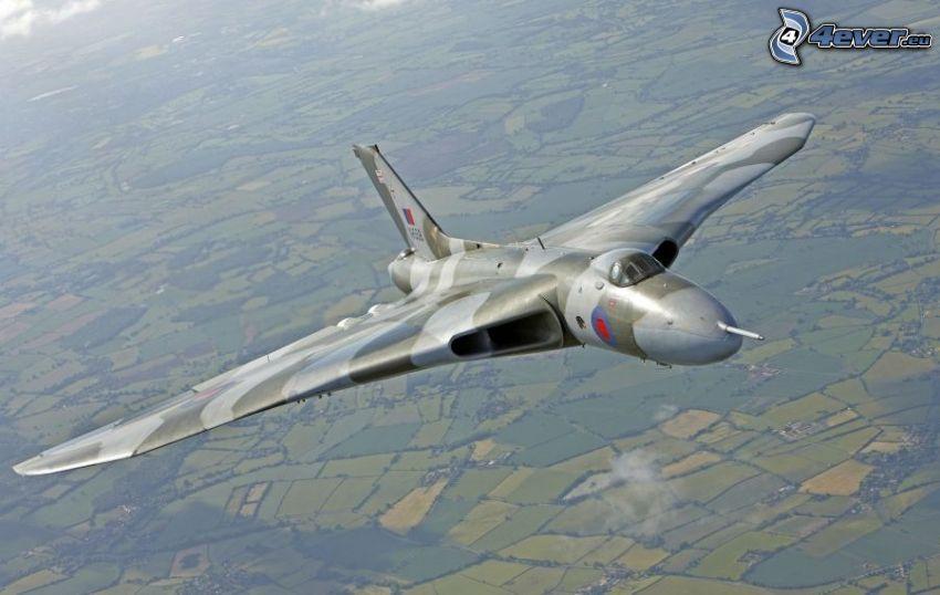Avro Vulcan, Felder