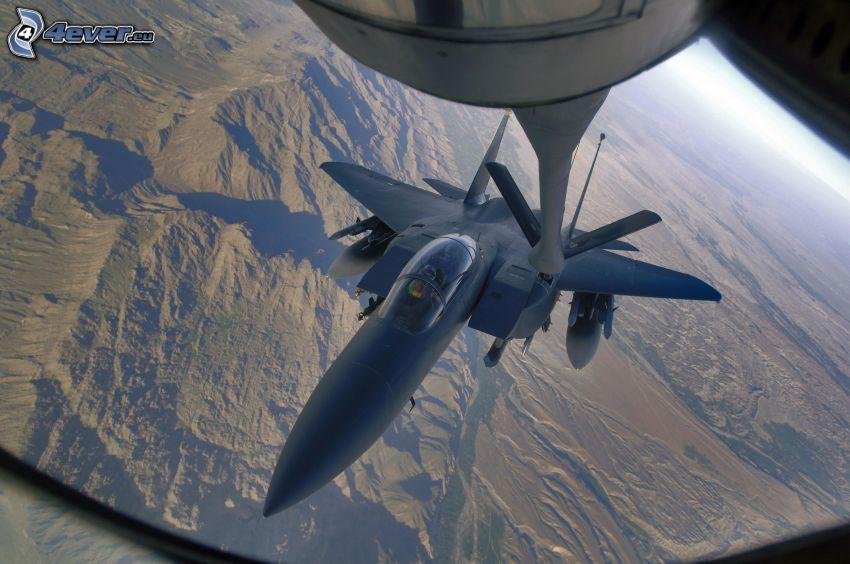 F-15 Eagle, Luftbetankung