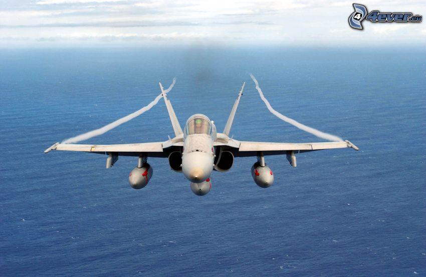 F/A-18 Hornet, Meer