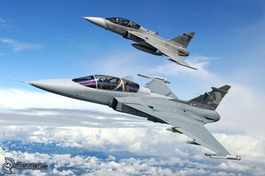Gripen NG, Jagdflugzeuge