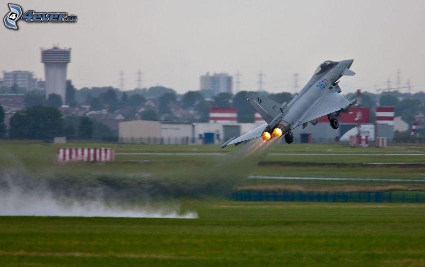 Jagdflugzeug, Start