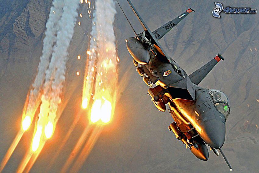 Jagdflugzeug, strela