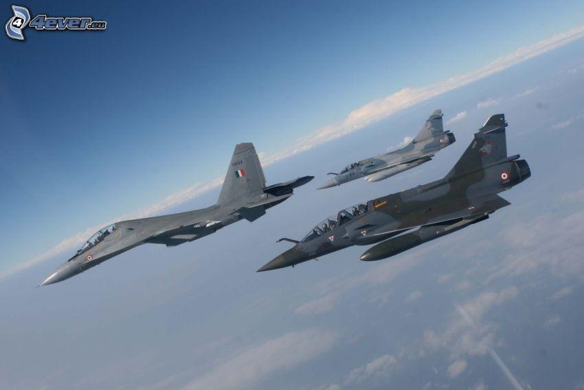 Jagdflugzeuge
