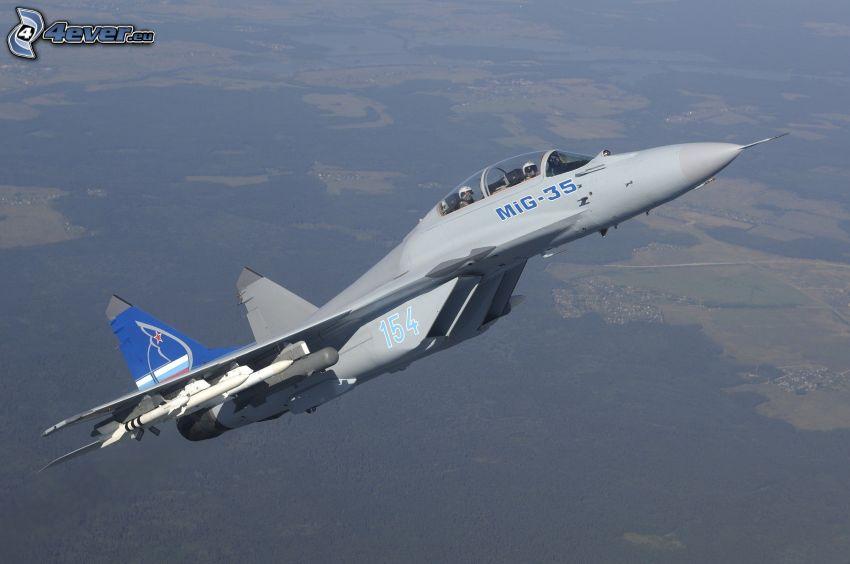 MiG-35, Jagdflugzeug