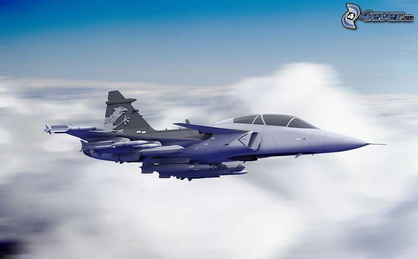Saab JAS 39 Gripen, Geschwindigkeit