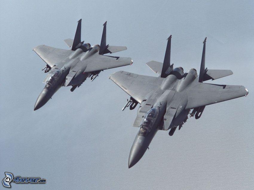 Staffel F-15 Eagle