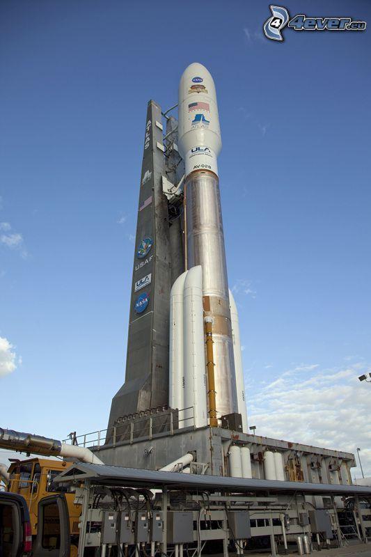 Atlas V, Schläger