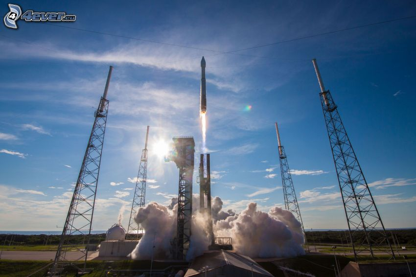 Atlas V, Start der Rakete