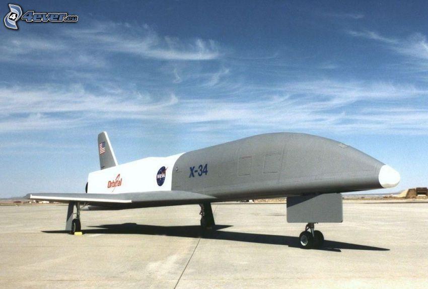 X-34, Raumschiff, Flughafen
