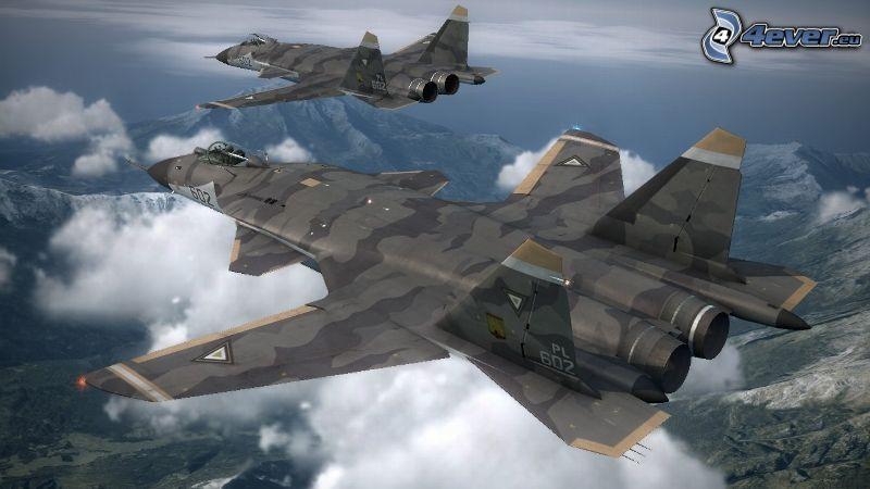 Sukhoi Su-47, Berge