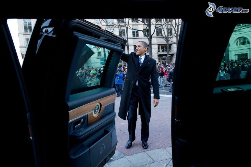 Barack Obama, Tür, Auto