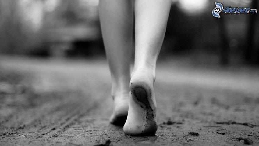 Beine, Wandern
