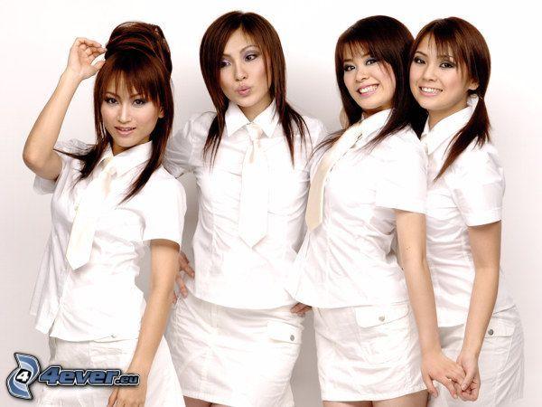 Japanische Mädchen, Mädchen