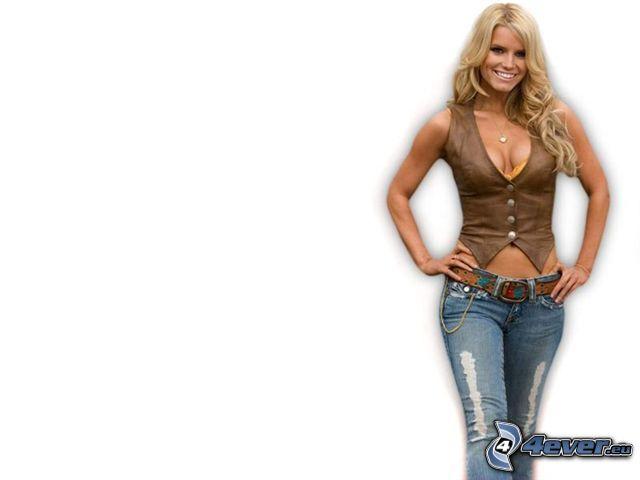 Jessica Simpson, Blondine, Cowgirl