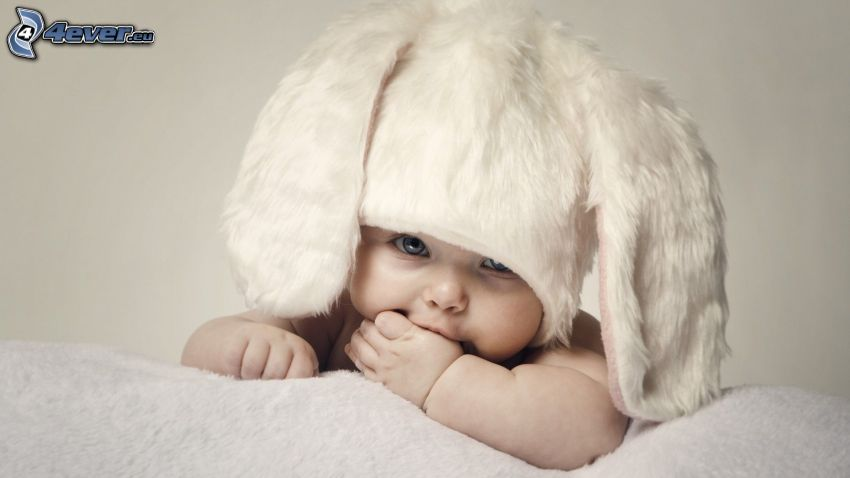 Baby, Mütze, Hase Kostüm