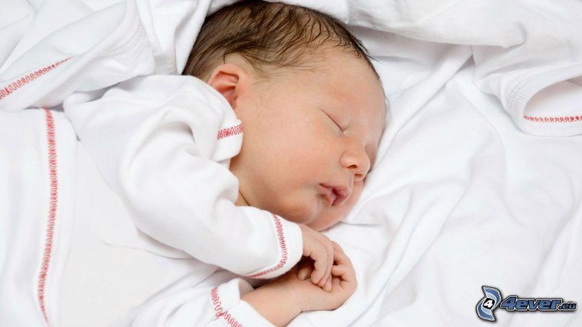 Baby, Schlafen