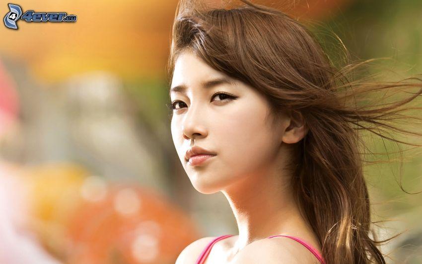 Mädchen, Asian Frau