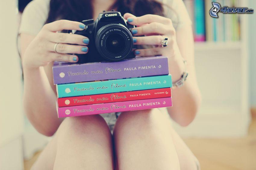Mädchen mit Kamera, Bücher