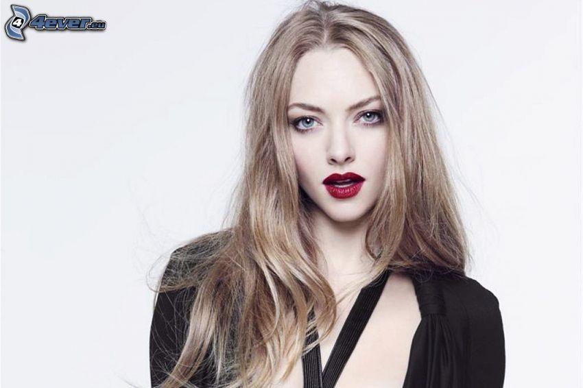 Amanda Seyfried, rote Lippen