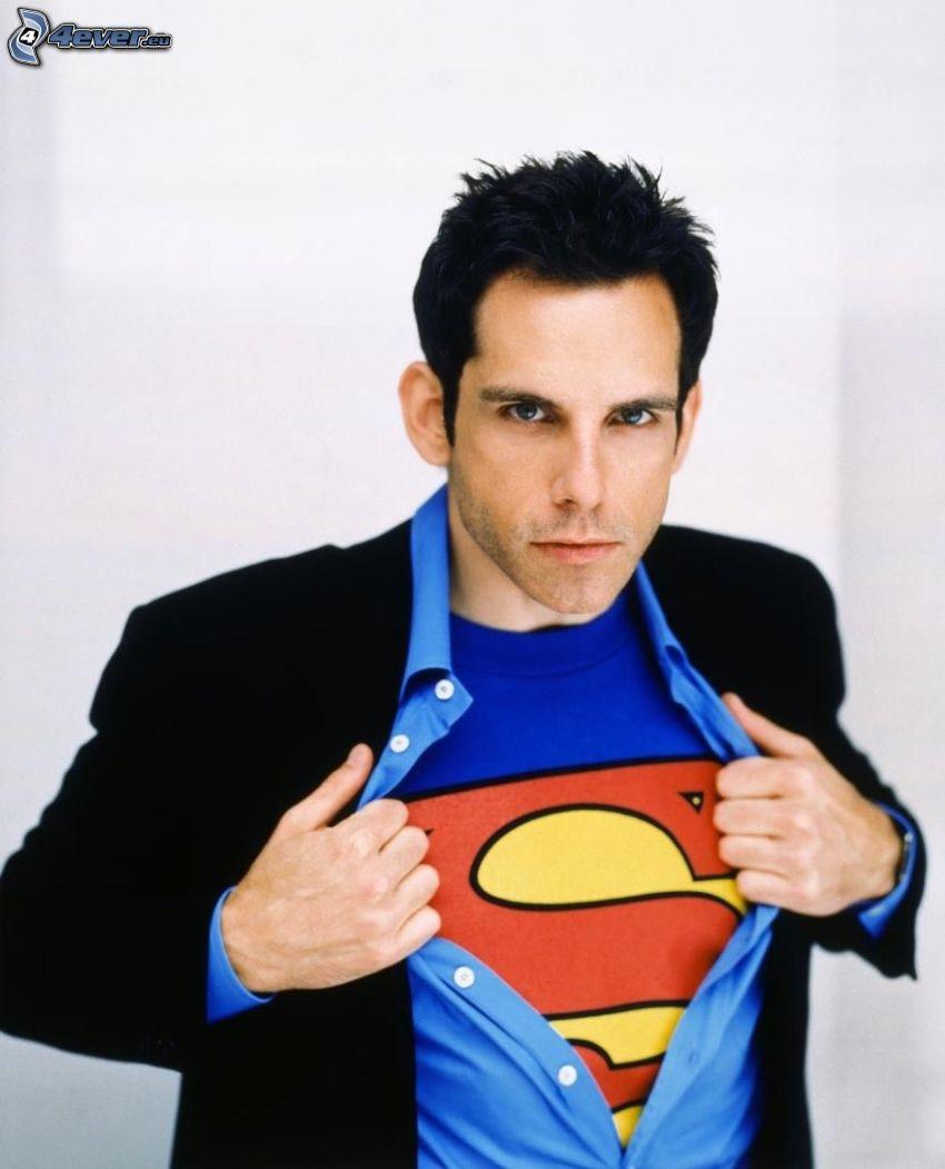 Ben Stiller, Superman, Jacke