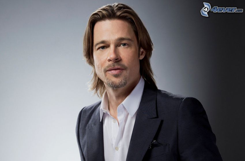 Brad Pitt, mann im Anzug