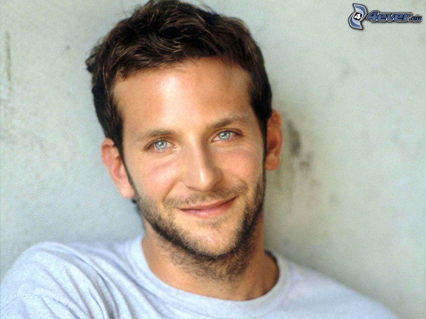 Bradley Cooper, blaue Augen, Lächeln