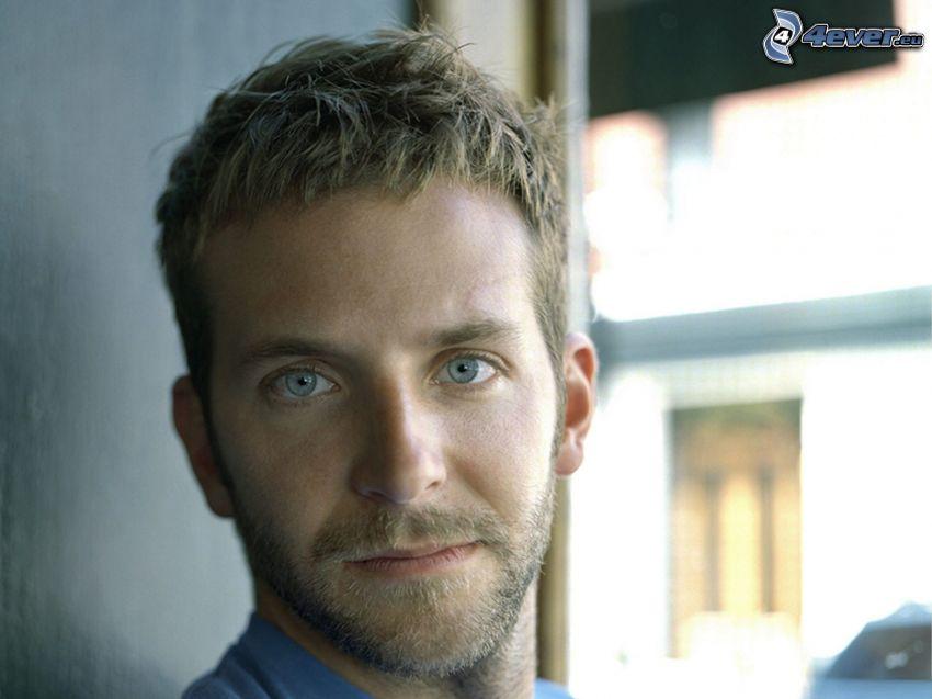 Bradley Cooper, blaue Augen