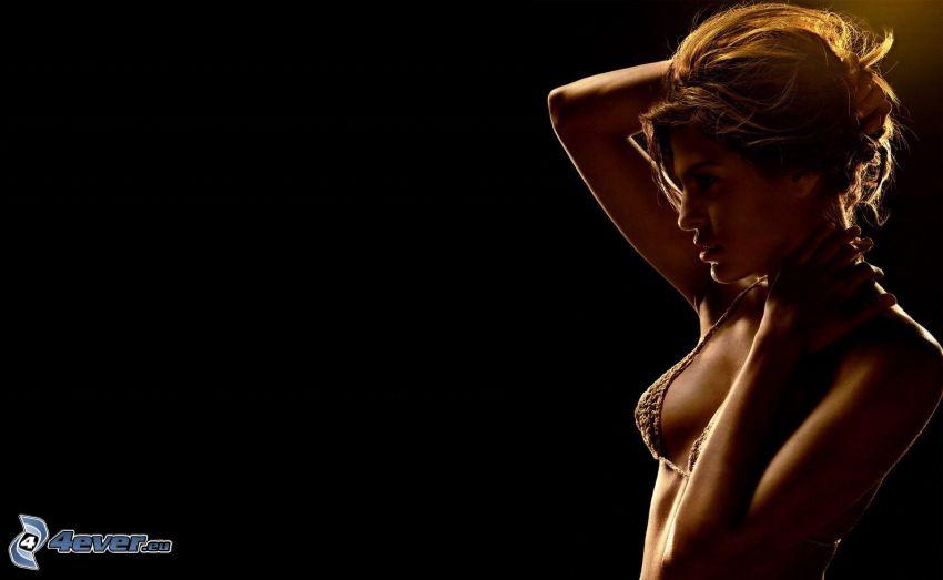 Eva Mendes, Frau im Bikini