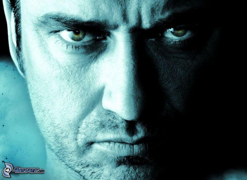 Gerard Butler, Gesicht, Mann