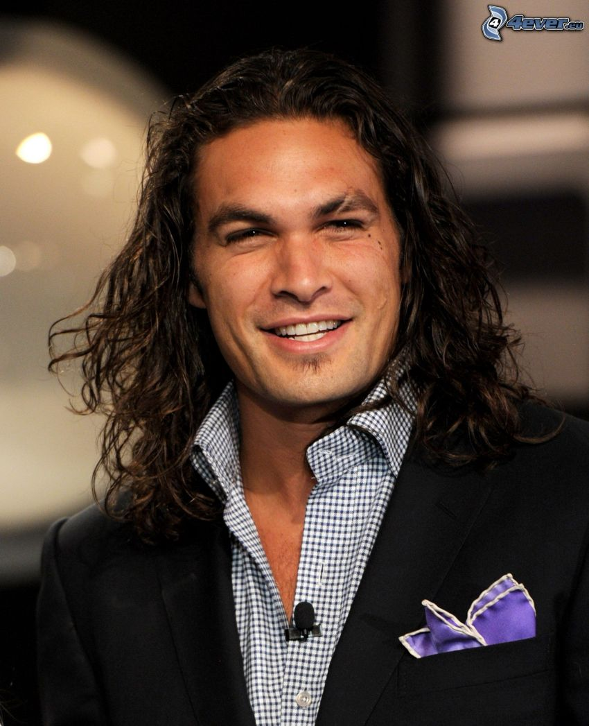 Jason Momoa, Lächeln