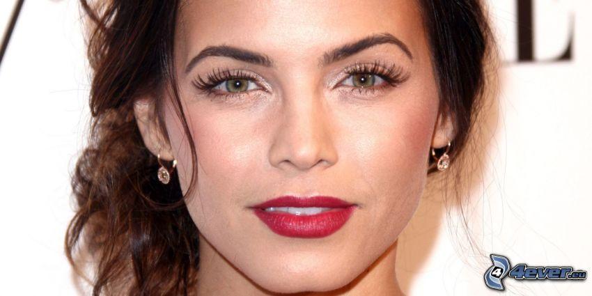 Jenna Dewan, rote Lippen