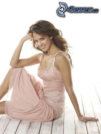 Jessica Alba, Lächeln