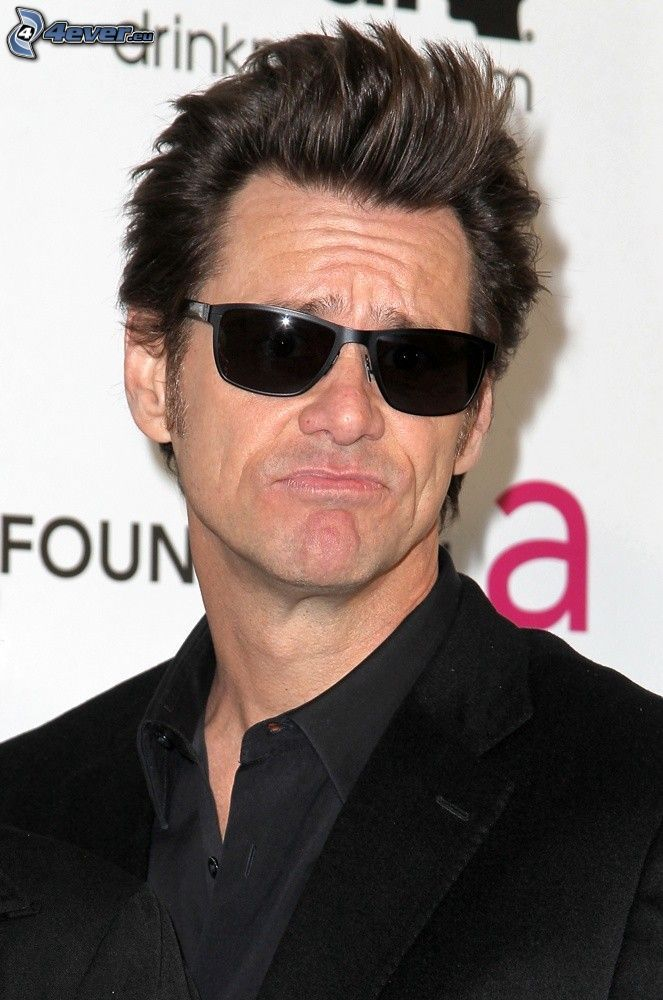 Jim Carrey, Sonnenbrille