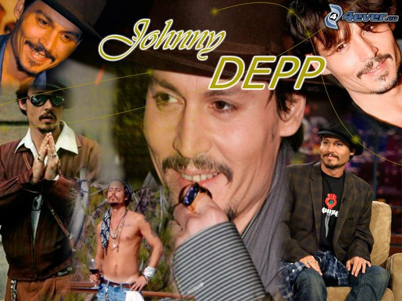 Johnny Depp, Schauspieler, Mann
