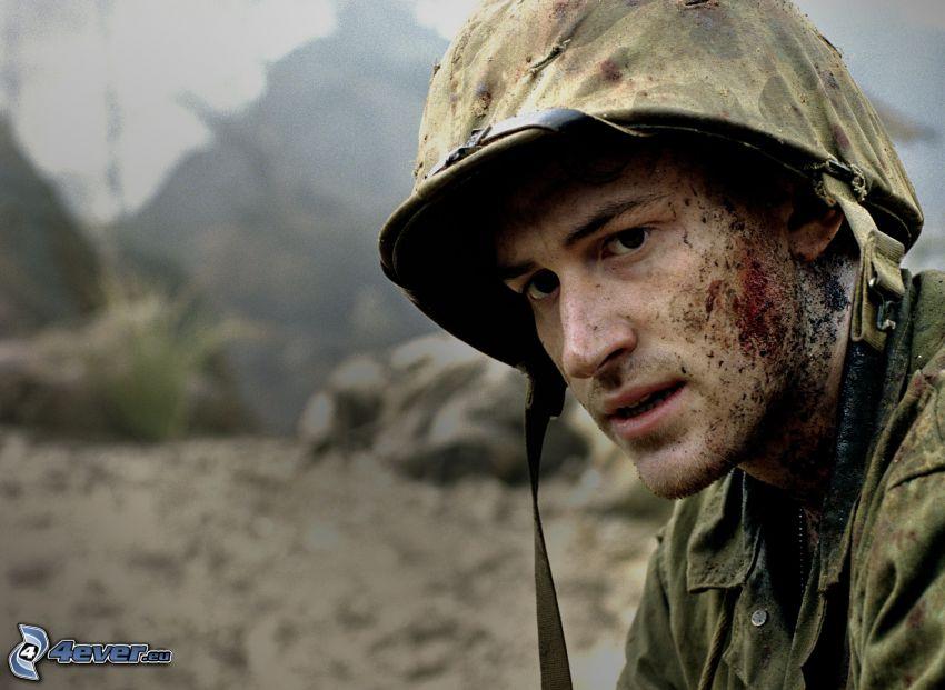 Joseph Mazzello, Soldat