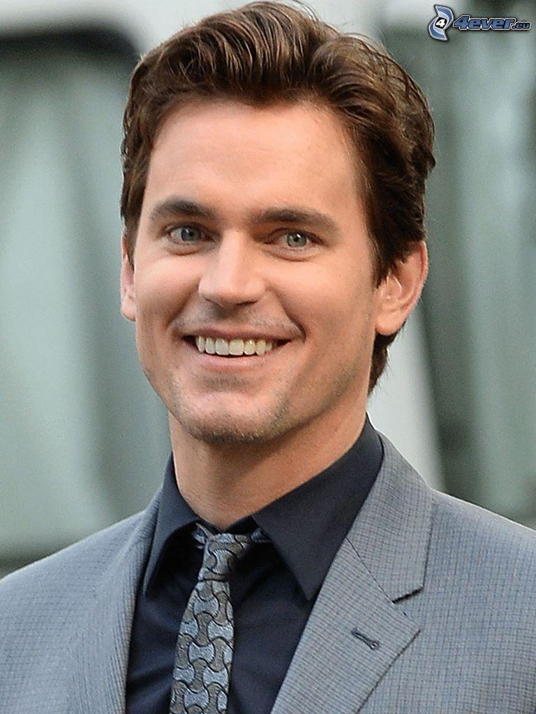 Matt Bomer, Lächeln