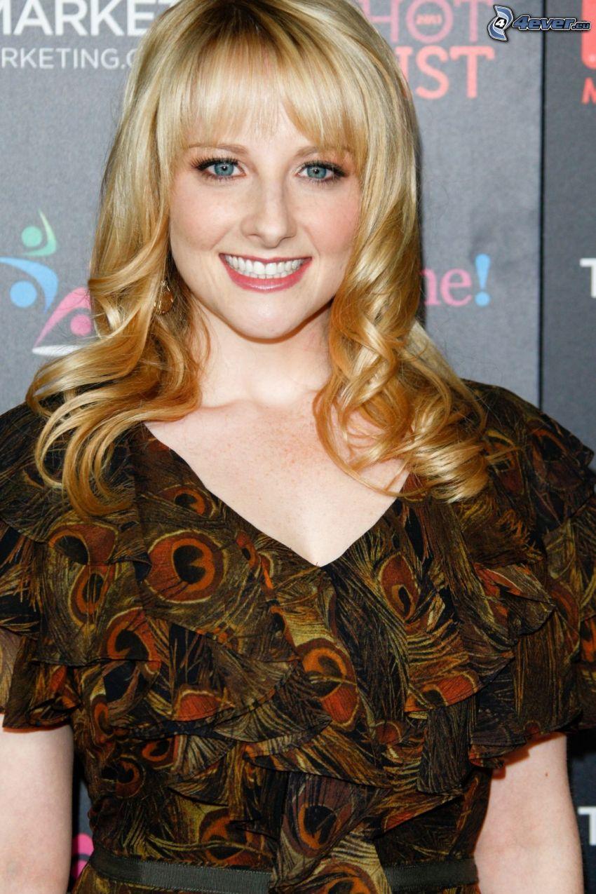 Melissa Rauch, Lächeln