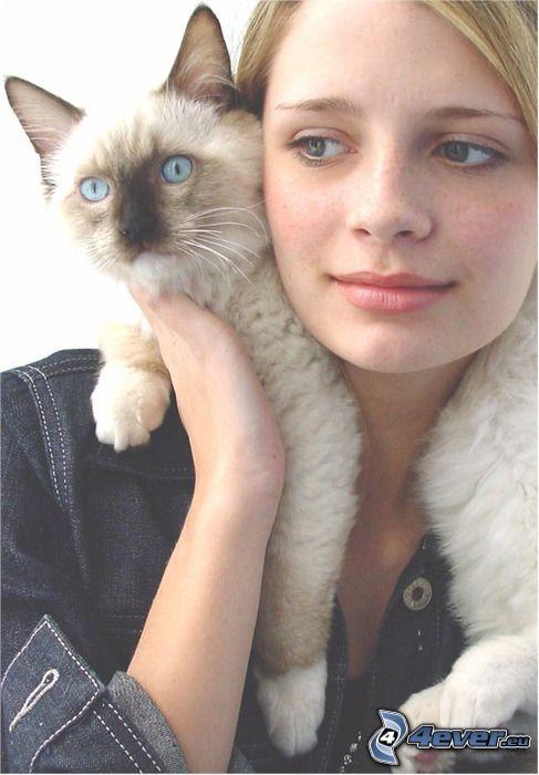 Mischa Barton, Katze