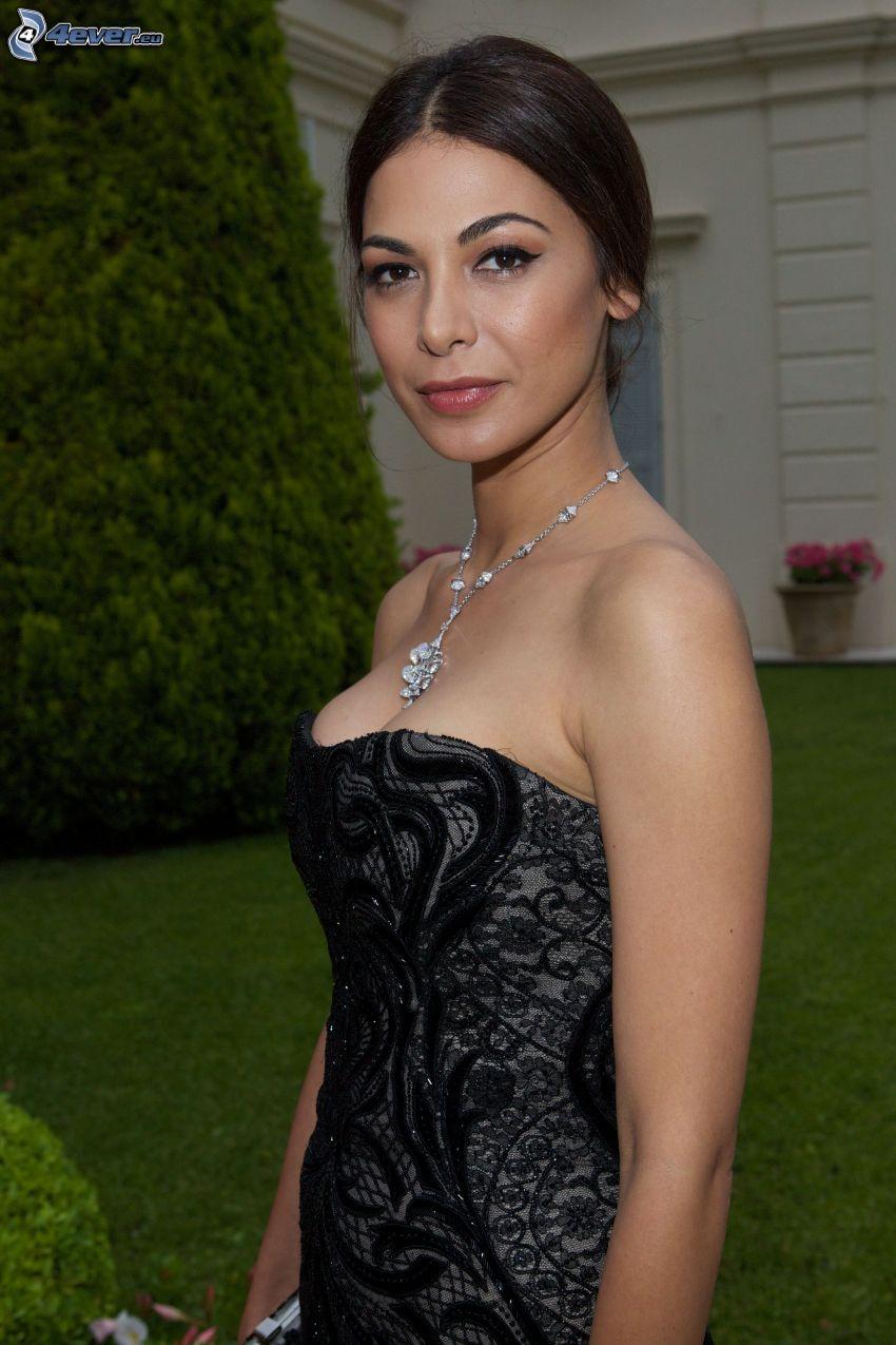 Moran Atias, schwarzes Kleid