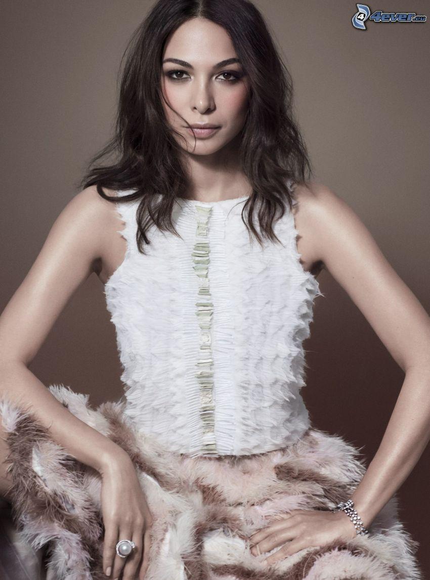 Moran Atias, weißes Kleid