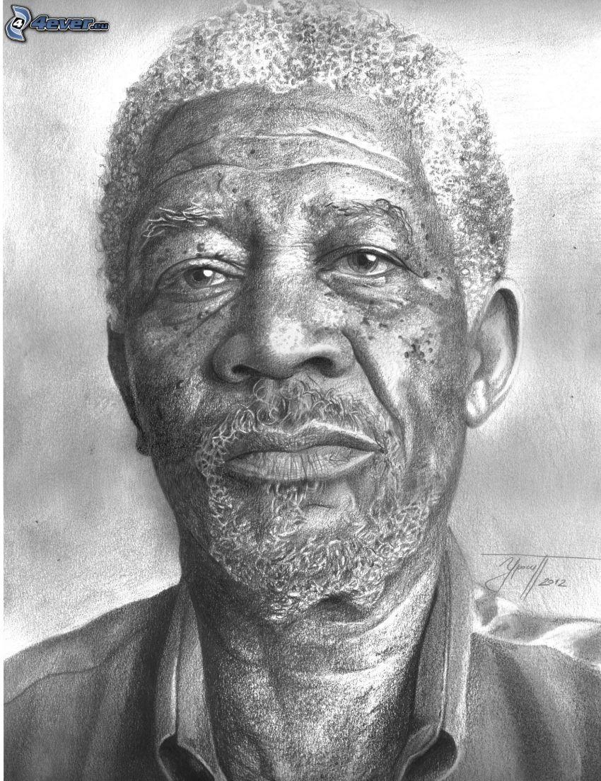 Morgan Freeman, Cartoon