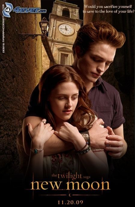 New Moon, Edward Cullen, Bella Swan