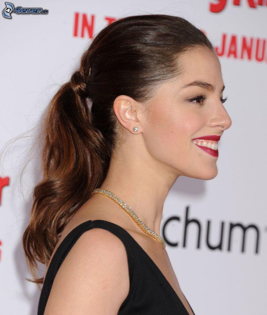 Olivia Thirlby, Lächeln, rote Lippen