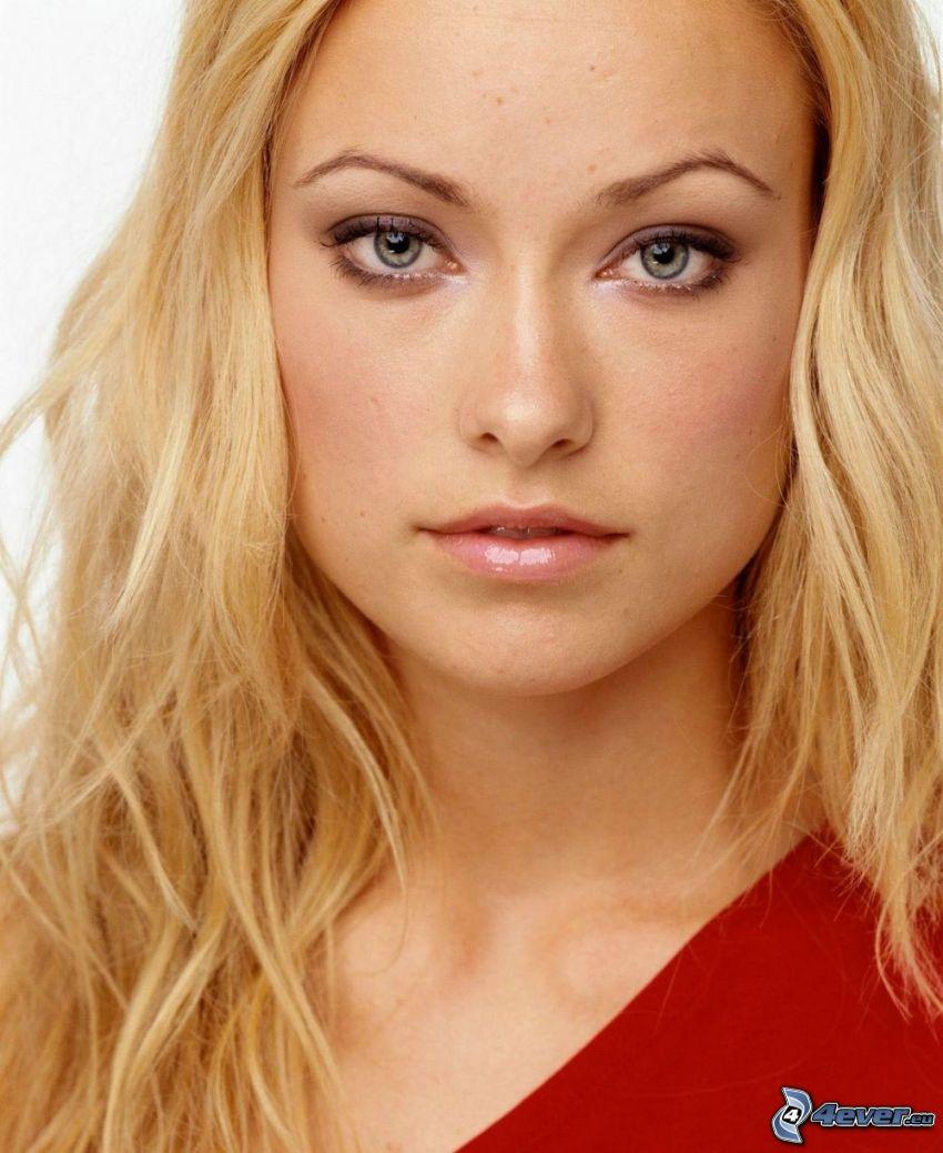 Olivia Wilde, Blondine