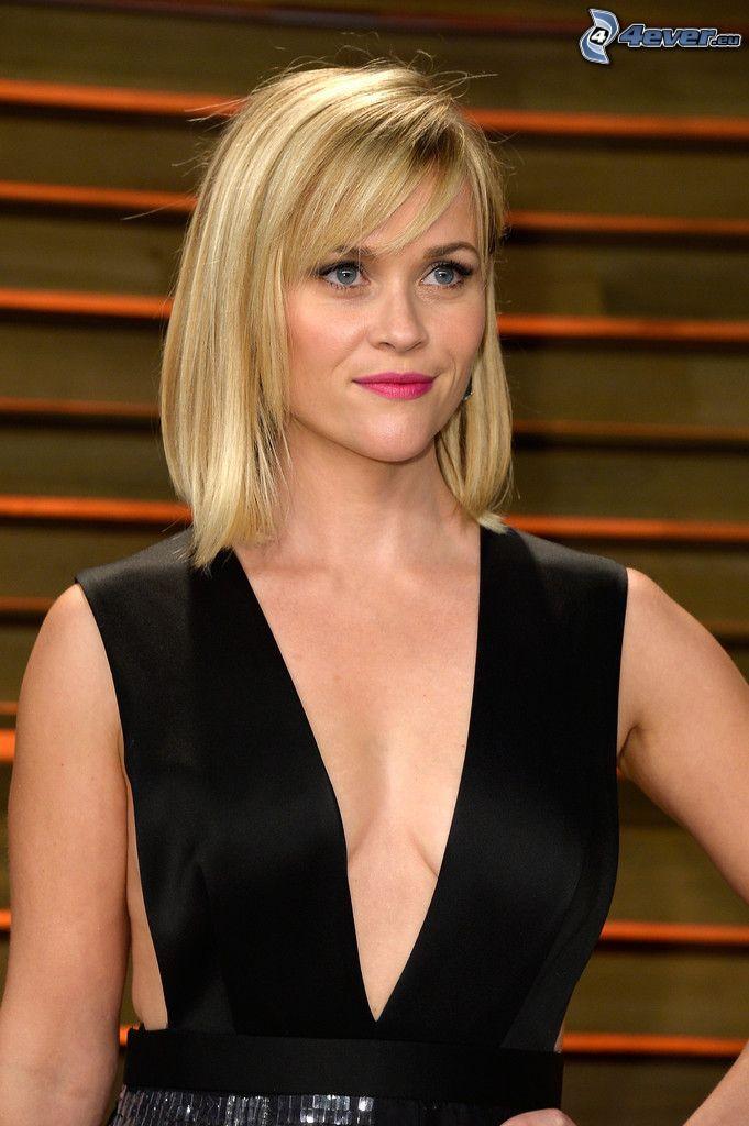 Reese Witherspoon, schwarzes Kleid
